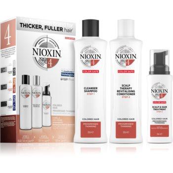Nioxin System 4 Color Safe set cadou pentru păr vopsit