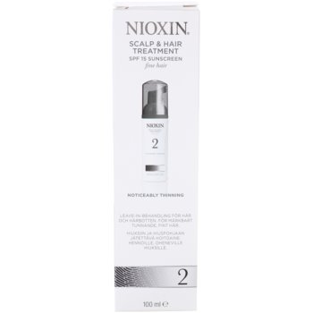 Nioxin System 2 Acalp Treatment To Treat Noticeable Thinning Of FineNatural Hair 4