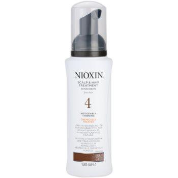 Nioxin System 4 mască pentru părul foarte subțiat, fin și tratat chimic