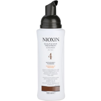 Nioxin System 4 Acalp Treatment To Treat Significant Thinning Of Fine Chemically Treated Hair 1