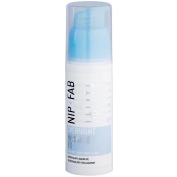 NIP+FAB Skin Overnight Fix noční vyhlazující krém proti vráskám
