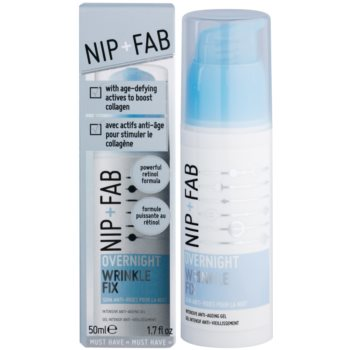 NIP+FAB Skin Overnight Fix noční vyhlazující krém proti vráskám 1