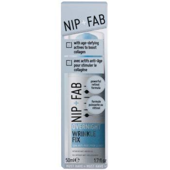 NIP+FAB Skin Overnight Fix noční vyhlazující krém proti vráskám 2