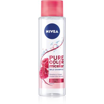 Nivea Pure Color Micellar micelární šampon pro barvené vlasy 400 ml