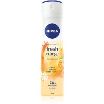 Nivea Fresh Blends Fresh Orange spray anti-perspirant cu o eficienta de 48 h poza