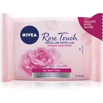 Nivea Rose Touch servetele micelare decorative imagine