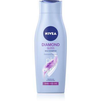 Nivea Diamond Gloss șampon pentru par obosit fara stralucire poza noua