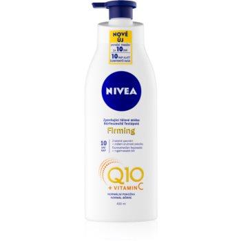 Nivea Q10 Plus zpevňující tělové mléko pro normální pokožku 400 ml