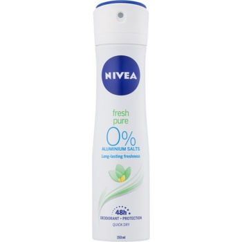 Nivea Fresh Pure deodorant spray