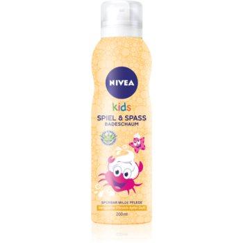 Nivea Kids Bio Aloe Vera spumă pentru duș pentru copii