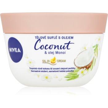Nivea Coconut & Monoi Oil souffle pentru corp