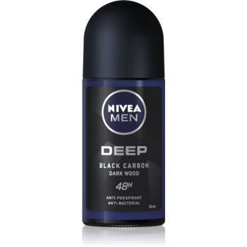 Nivea Men Deep antiperspirant roll-on 48 de ore  50 ml