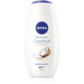 Nivea Care & Coconut gel cremos pentru dus imagine produs