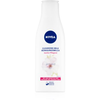 Nivea Almond Oil lapte pentru curatare cu ulei de migdale