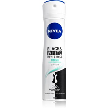 Nivea Invisible Black & White Fresh antiperspirant împotriva petelor albe și galbene  150 ml