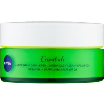 Nivea Urban Skin crema de zi antioxidanta cu acid hialuronic