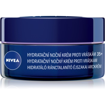 Nivea Anti-Wrinkle Moisture Crema de noapte hidratanta anti-rid 35+