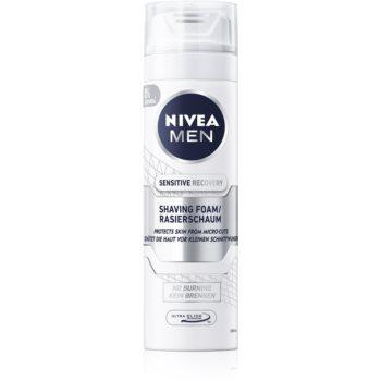 Nivea Men Sensitive spumã pentru bãrbierit pentru piele sensibilã imagine produs