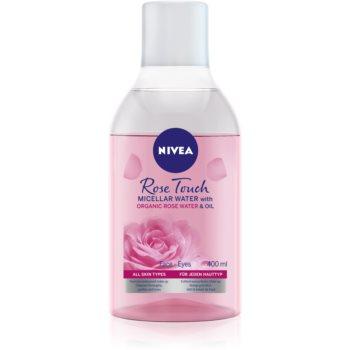 Nivea MicellAir Rose Water apa micelara 2 in 1 imagine produs