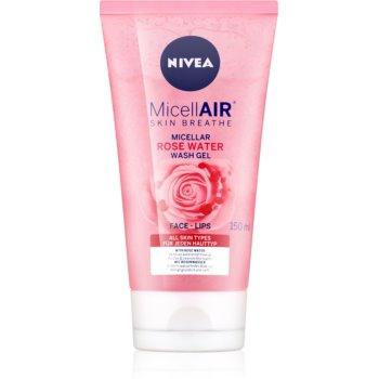 Nivea MicellAir Rose Water gel de curatare micelar