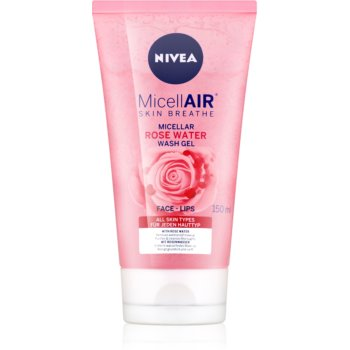 Nivea MicellAir Rose Water čisticí micelární gel 150 ml