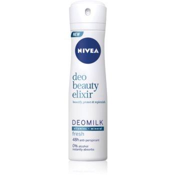 Nivea Deo Beauty Elixir Fresh spray anti-perspirant 48 de ore poza