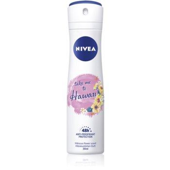 Nivea Take me to Hawaii spray anti-perspirant 48 de ore