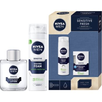 Nivea Men Sensitive Fresh set cadou IX. (pentru barbati)
