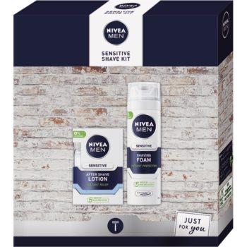 Nivea Men Sensitive set cadou (pentru ras) imagine produs