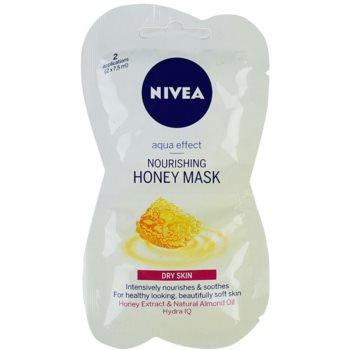 Nivea Aqua Effect masca hranitoare cu miere