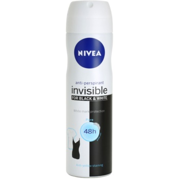 Nivea Invisible Black & White Pure spray anti-perspirant