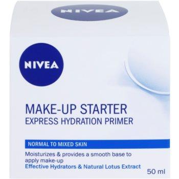 Nivea Make-up Starter легкий крем-основа для нормальної та змішаної шкіри 3