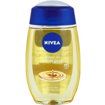 Nivea Natural Oil ulei de dus pentru piele uscata