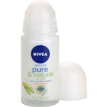 Nivea Pure & Natural dezodorant w kulce 1
