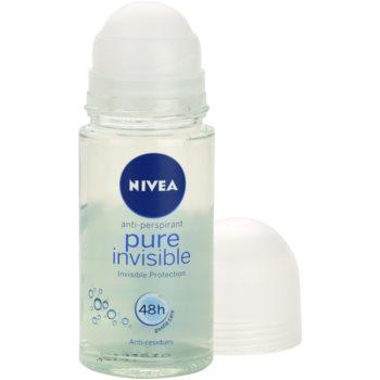 Nivea Pure Invisible кульковий антиперспірант 1