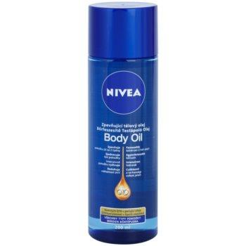 Fotografie Nivea Q10 Plus zpevňující tělový olej pro všechny typy pokožky 200 ml