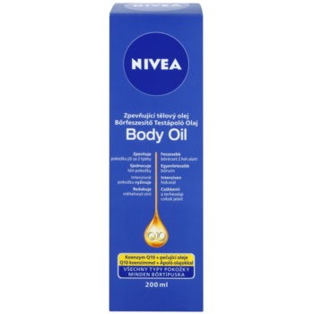 Nivea Q10 Plus zpevňující tělový olej pro všechny typy pokožky 2