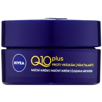 Nivea Q10 Plus crema de noapte antirid