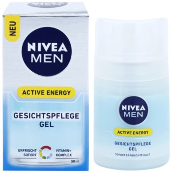 Nivea Men Active Energy osvežilni gel za obraz 2