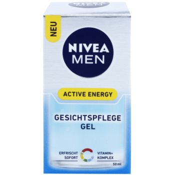 Nivea Men Active Energy osvežilni gel za obraz 3