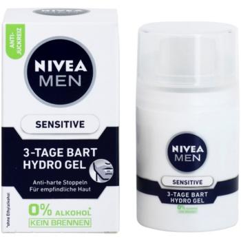 Nivea Men Sensitive гел за лице за мъже 2