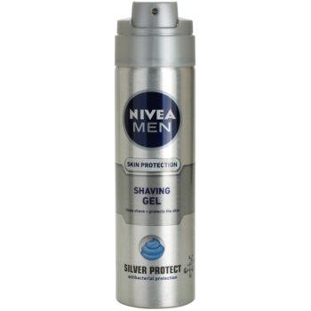 Nivea Men Silver Protect gel de barbear 1