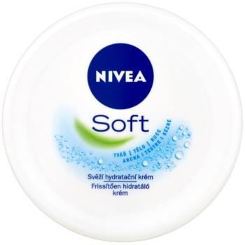 Nivea Soft crema racoritoare hidratanta poza noua