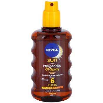 Nivea Sun óleo bronzeador em cápsulas  SPF 6 1