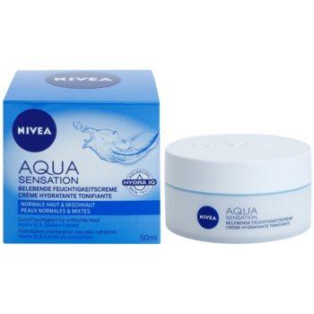 Nivea Visage Aqua Sensation hydratisierende Tagescreme für normale Haut und Mischhaut 1