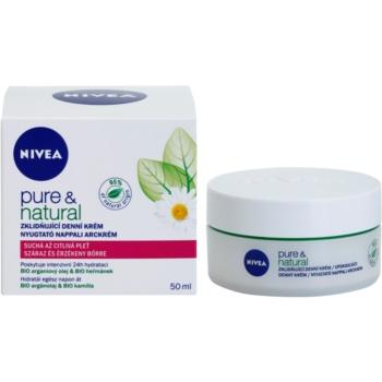 Nivea Visage Pure & Natural crema de zi calmanta ten uscat 1