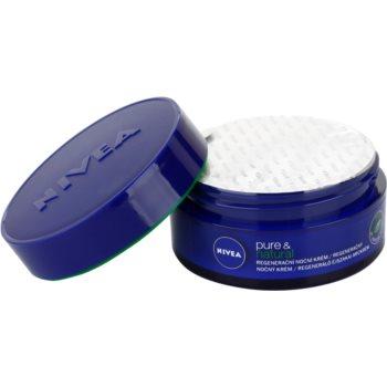Nivea Visage Pure & Natural regenerujący krem na noc do wszystkich rodzajów skóry 1
