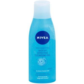 Nivea Visage Pure Effect gel de curatare