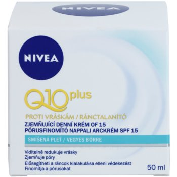 Nivea Visage Q10 Plus дневен крем  за смесена кожа 2