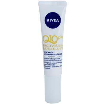 Nivea Visage Q10 Plus oční krém proti vráskám 15 ml